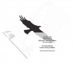 05-WC-1295 - Eagle Soaring Yard Art Woodworking Pattern