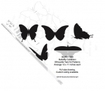Butterfly Collection Silhouettes Yard Art Woodworking Pattern