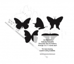 05-WC-1301 - Butterfly Collection Silhouettes Woodworking Pattern