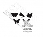 05-WC-1302 - Butterfly Collection Silhouettes Woodworking Pattern