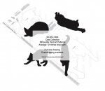 05-WC-1304 - Cat Collection Silhouettes Woodworking Patterns
