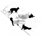 05-WC-1305 - Cat Collection Silhouettes Woodworking Patterns