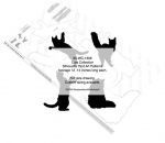 05-WC-1306 - Cat Collection Silhouettes Woodworking Patterns