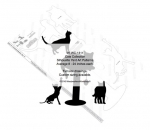 05-WC-1311 - Cat Collection Silhouettes Yard Art Woodworking Pattern