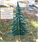 3D Trees Yard Art Woodworking Patterns - 48, 30 and 23 inches tall
