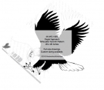 Eagle Approach Silhouette Yard Art Woodworking Pattern