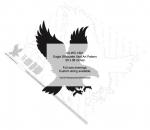 Eagle Silhouette Yard Art Woodworking Pattern