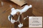 Barkley the 3D Bulldog Woodworking Pattern