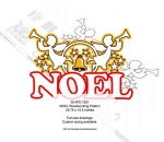 05-WC-1351 - NOEL with Trumpeting Angels Yard Art Woodworking Pattern