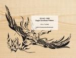 Eagle Scrollsaw Woodworking Pattern, scrollsawing,eagles,birds,wildlife,yard art,painting wood crafts,scrollsawing patterns,drawings,plywood,plywoodworking plans,woodworkers projects,workshop blueprints
