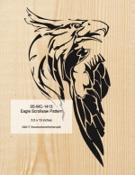 05-WC-1413 - Eagle Scrollsaw Woodworking Pattern