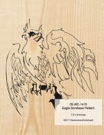 05-WC-1415 - Eagle Scrollsaw Woodworking Pattern