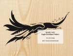 05-WC-1421 - Eagle Scrollsaw Woodworking Pattern