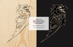 fee plans woodworking resource from WoodworkersWorkshop® Online Store - eagles,birds of prey,art,positive plans,negative projects,painting wood crafts,scrollsawing patterns,drawings,woodworkers projects,workshop blueprints