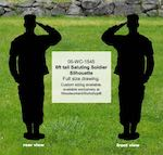 Bigfoot Sasquatch 8ft tall Yard Art Woodworking Pattern