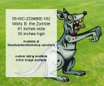 Wally B. the Zombie Yard Art Woodworking Pattern