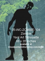 Dany the Zombie Yard Art Woodworking Pattern