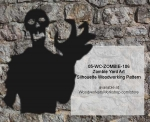 Zombie Yard Art Silhouette Woodworking Pattern