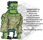 Frankenstein 80 inches tall Yard Art Woodworking Pattern