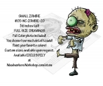 Small Zombie 36 inches tall Yard Art Woodworking Pattern