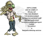 05-WC-ZOMBIE-31 - Cripple Zombie Yard Art Woodworking Pattern