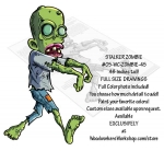 05-WC-ZOMBIE-45 - Stalker Zombie Yard Art Woodworking Pattern