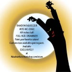 Shadow Squeezer Zombie Silhouette Yard Art Woodworking Pattern