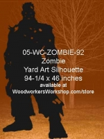 05-WC-ZOMBIE-92 - Frank N Stein the Zombie Yard Art Woodworking Pattern