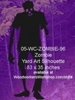 05-WC-ZOMBIE-96 - Holden the Zombie Yard Art Woodworking Pattern