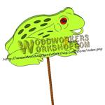 Froggie Downloadable Scrollsaw Woodworking Plan