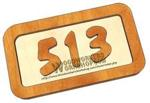 05-WP-013 - House Numbers Downloadable Scrollsaw Woodworking Plan PDF