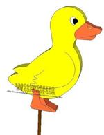 05-WP-015 - Ducklings Yard Ornament Downloadable Scrollsaw Woodworking Plan PDF