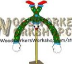 fee plans woodworking resource from WoodworkersWorkshop Online Store - balance,toys,clowns,downloadable PDF,balancing,scrap wood projects,tole painting wood crafts,scrollsawing patterns,4-H Club,4H projects,scouts,girl guides,agricultural mechanics,Accents In Pine,woodwo