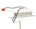 fee plans woodworking resource from WoodworkersWorkshop Online Store - goose,geese,ducks,downloadable PDF,birds,scrap wood projects,tole painting wood crafts,scrollsawing patterns,4-H Club,4H projects,scouts,girl guides,agricultural mechanics,Accents In Pine,woodworking