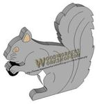 05-WP-039 - Squirrel Downloadable Scrollsaw Woodworking Plan PDF