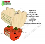 Apple Basket Downloadable Scrollsaw Woodworking Pattern