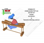 05-WP-047 - Spinning Toy Downloadable Scrollsaw Woodworking Pattern PDF