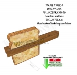 05-WP-095 - Toaster Tongs Downloadable Scrollsaw Woodworking Pattern PDF