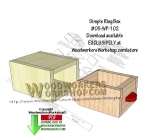 Simple Ring Box Downloadable Scrollsaw Woodworking Pattern