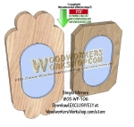 fee plans woodworking resource from WoodworkersWorkshop� Online Store - mirror frames,picture frames,photo framing,wooden frames,scrap wood projects,downloadable PDF,tole painting wood crafts,scrollsawing patterns,4-H Club,4H projects,scouts,girl guides,drawings,Accents I