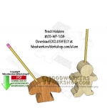 fee plans woodworking resource from WoodworkersWorkshop® Online Store - gingerbread man,pencil holders,mushrooms,scrap wood projects,downloadable PDF,tole painting wood crafts,scrollsawing patterns,4-H Club,4H projects,scouts,girl guides,drawings,Accents In Pine,woodworki