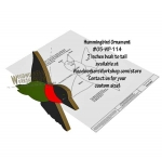 Hummingbird Downloadable Scrollsaw Woodworking Plans