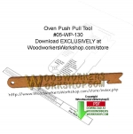 Oven Push Pull Tool Downloadable Scrollsaw Woodcrafting Pattern PDF, kitchen utensils,oven push pull tools,scrap wood projects,downloadable PDF,tole painting wood crafts,scrollsawing patterns,4-H Club,4H projects,scouts,girl guides,drawings,Accents In Pine,woodworking