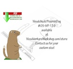 Woodchuck or Prairie Dog Downloadable Scrollsaw Woodworking Plan