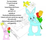 05-WP-141 - Easter Bunny Downloadable Scrollsaw Woodworking Plan PDF