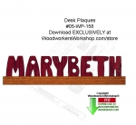 Desk Plaques Downloadable Scrollsaw Free Woodworking Plan