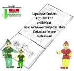 fee plans woodworking resource from WoodworkersWorkshop� Online Store - st patricks day,leprechauns,luck of the irish,scrap wood projects,downloadable PDF,tole painting wood crafts,scrollsawing patterns,4-H Club,4H projects,scouts,girl guides,drawings,Accents In Pine,wood