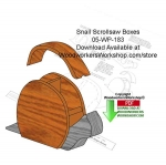 05-WP-183 - Snail Scrollsaw Boxes Downloadable Scrollsaw Woodworking Patterns PDF
