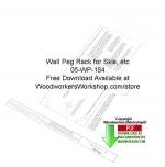 Ski Rack Downloadable Scrollsaw Free Woodworking Pattern