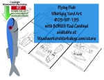 Flying Fish Downloadable Scrollsaw Woodworking Plan